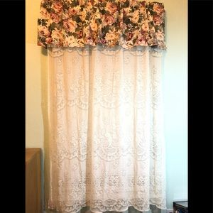 Other - Set of 2 window curtains with valance.